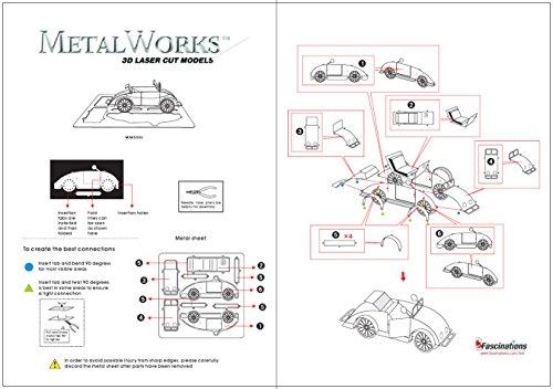 032309010060 - Fascinations Metal Earth Beach Buggy 3D Metal Model Kit carousel main 3
