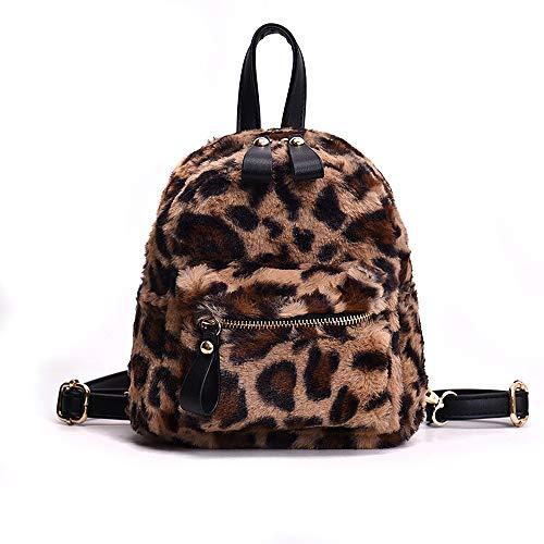 Leopard Mini Bag - YSMYWM Women Leopard Print Faux