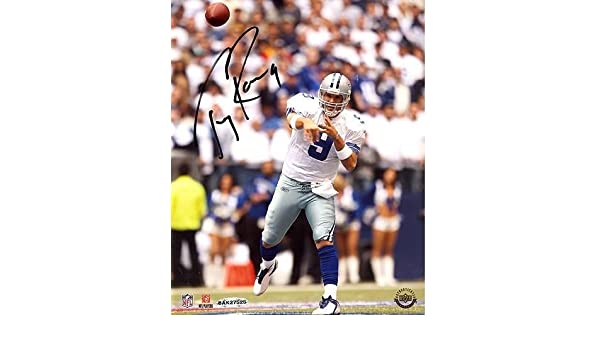 Amazon.com  Tony Romo Home Passing vs Giants 8x10 Autographed Signed Photo  UDA Auth - Authentic Signature  Sports Collectibles 766cbeef8
