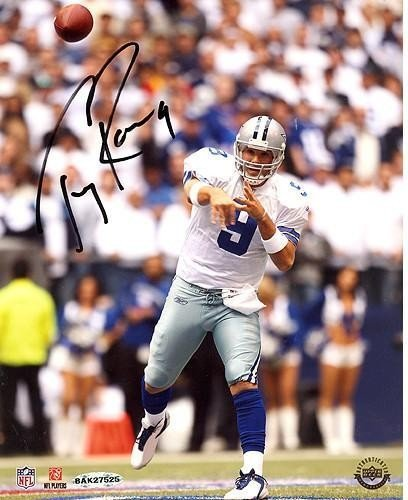 Tony Romo Home Passing vs Giants 8x10 Autographed Signed Photo UDA Auth -  Authentic Signature 7ae1b971d