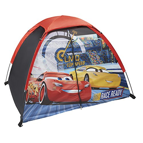 (Exxel Outdoors Disney Cars 3 Play Tent, Blue)