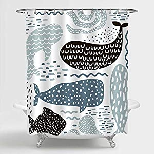 51NGQDCxfRL._SS300_ Beach Shower Curtains & Nautical Shower Curtains