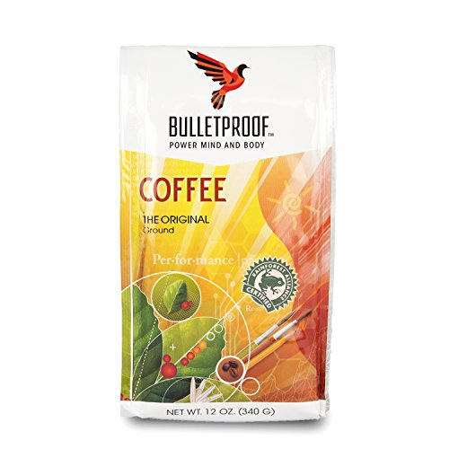 Bulletproof – The Original Ground Coffee, Upgraded Coffee Upgrades Your Day (12 Ounces)