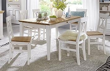 Main Möbel Tischgruppe Zürich Kiefer Massiv Amazonde Küche Haushalt