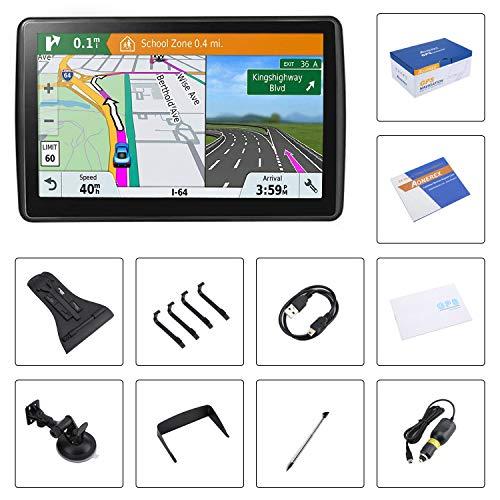 [해외구매대행 ] Aonerex GPS Navigation - 자동차용 GPS 네비게이션, 7인치 HD 터치스크린, 내장형 8GB  실시간 음성 회전 알람, 위성 네비게이션, 무료 평생지도