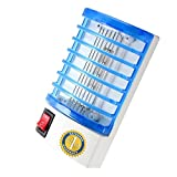Bug Zapper – Indoor Electric Insect Killer- Mosquito Killer – Mosquito Trap – Eliminates all Flying Pests. Night Socked Led Lamp – Mosquito Repellent – Blue