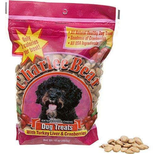Charlee Bear Dog Treat, 16-Ounce, (Charlee Bear Training Treats)