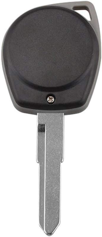 Cl/é /à Distance pour Voiture Suzuki Swift SX4 Puce Alto Vitara IGNIS JIMNY Splash 433 MHz ID46 Noir