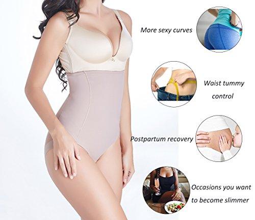 7029616ce75ff Joyshaper High Waist Brief Shapewear for Women Tummy Control Panties Mesh  Slimming Panty Girdle
