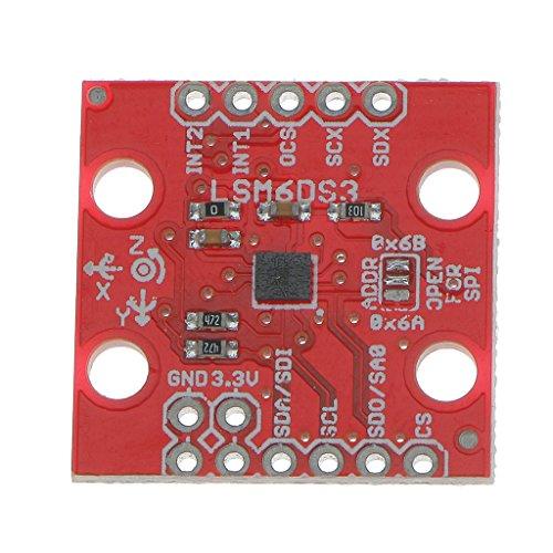 LSM6DS3 3軸ジャイロスコープセンサー3軸慣性6DOFモジュールIIC / SPI