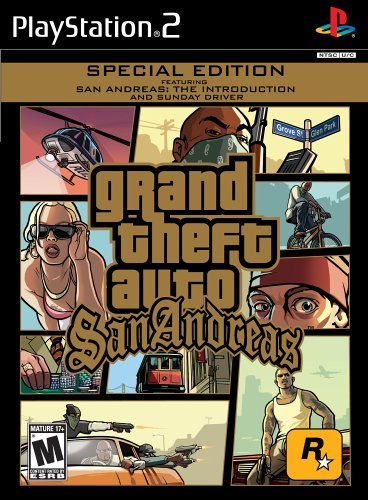 Amazon Com Grand Theft Auto San Andreas Playstation 2 Artist