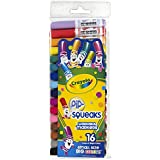 Crayola Wash Pip Squeaks Markers - Broad Line (16 Count)