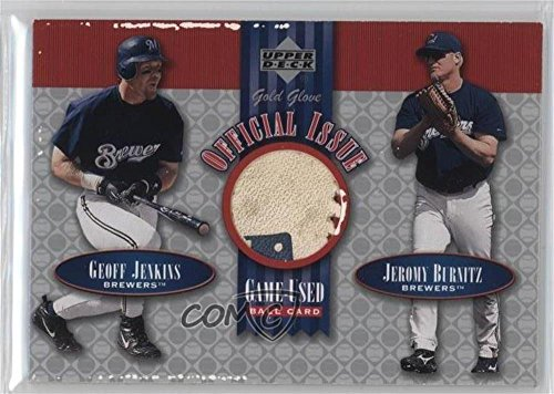 geoff-jenkins-jeromy-burnitz-baseball-card-2001-upper-deck-gold-glove-official-issue-game-used-balls