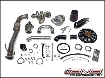 AMS Mitsubishi Lancer Evolution VII/VIII/IX 900 x V-Band Turbo Kit: Amazon.es: Coche y moto