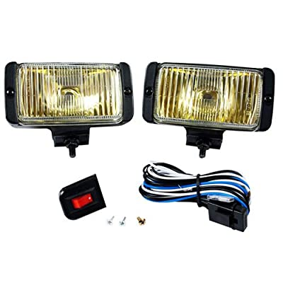 Blazer DF1075KB Rectangular Fog Light Kit, Amber: Automotive
