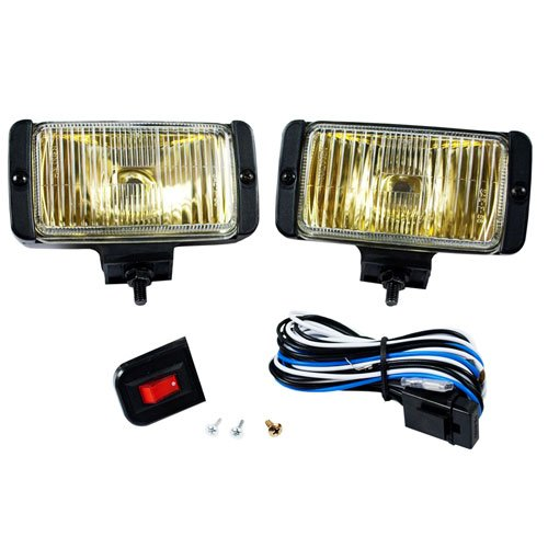 Blazer DF1075KB Rectangular Fog Light Kit, Amber