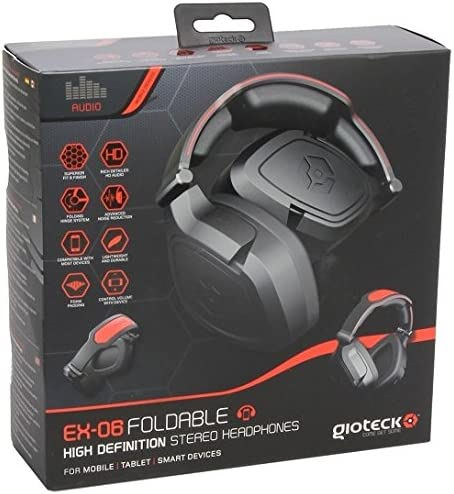 GIOTECK EX06 FOLDABLE Wired Headset