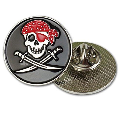 GOLTERS Enamel Skull Lapel Pin Funny Internet Meme Brooch Clip-Fashion Trendy Accessory for Jacket T-Shirt Backpack Hat Shoe -