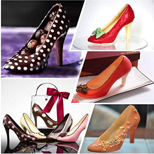 à haut Moule Chaussures Candy talon 3d Chocolat zxZqUwHdw