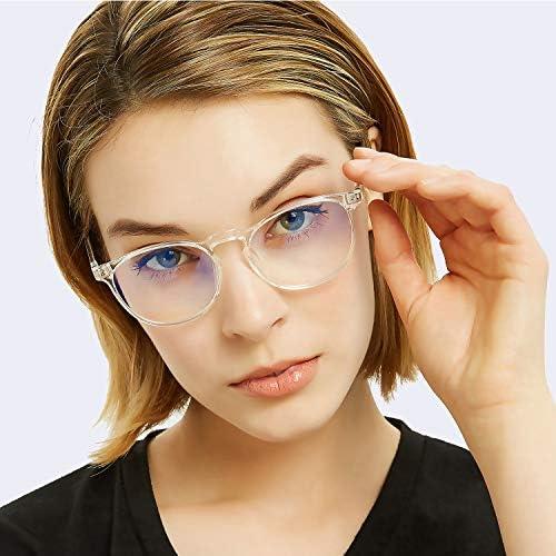 Blue light blocking glasses - Glasses that block blue light for computer