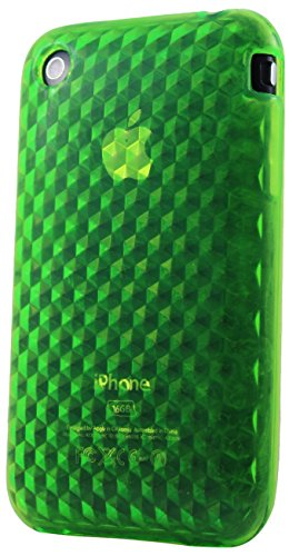 Katinkas KATIP31086 Soft Cover für Apple iPhone 3G/3GS HEX 3D grün