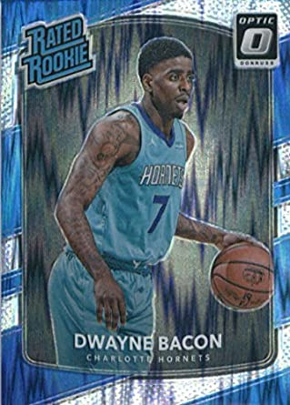 75f8b3face7 2017-18 Donruss Optic Flash Prizm  161 Dwayne Bacon Charlotte Hornets Rated  Rookie Basketball