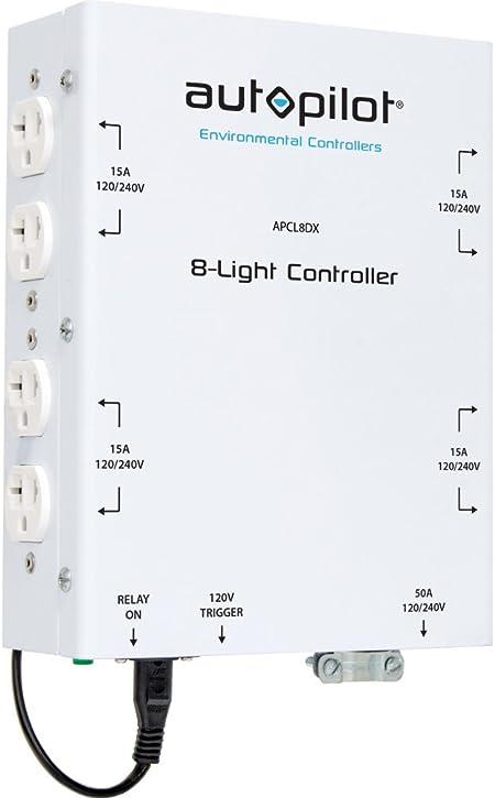 240v ballast wiring diagram amazon com autopilot apcl8dx lighting controller  8 home and  autopilot apcl8dx lighting controller