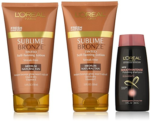 LOreal Paris Sublime Self Tanning Haircare product image