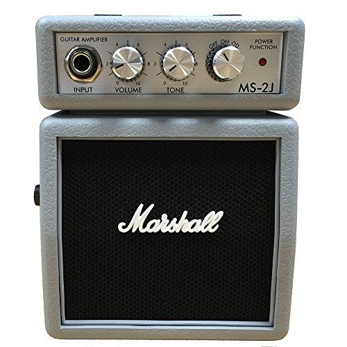 (Marshall MS-2 Mini Amp, Silver)
