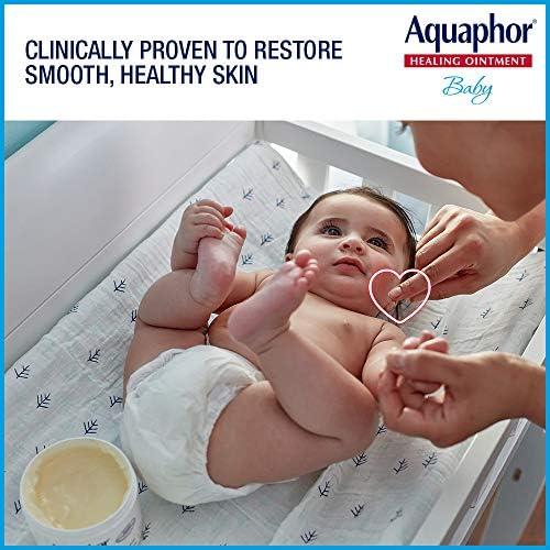 51NGXM8wavL. AC - Aquaphor Baby Healing Ointment - Advance Therapy For Diaper Rash, Chapped Cheeks And Minor Scrapes - 14 Oz Jar