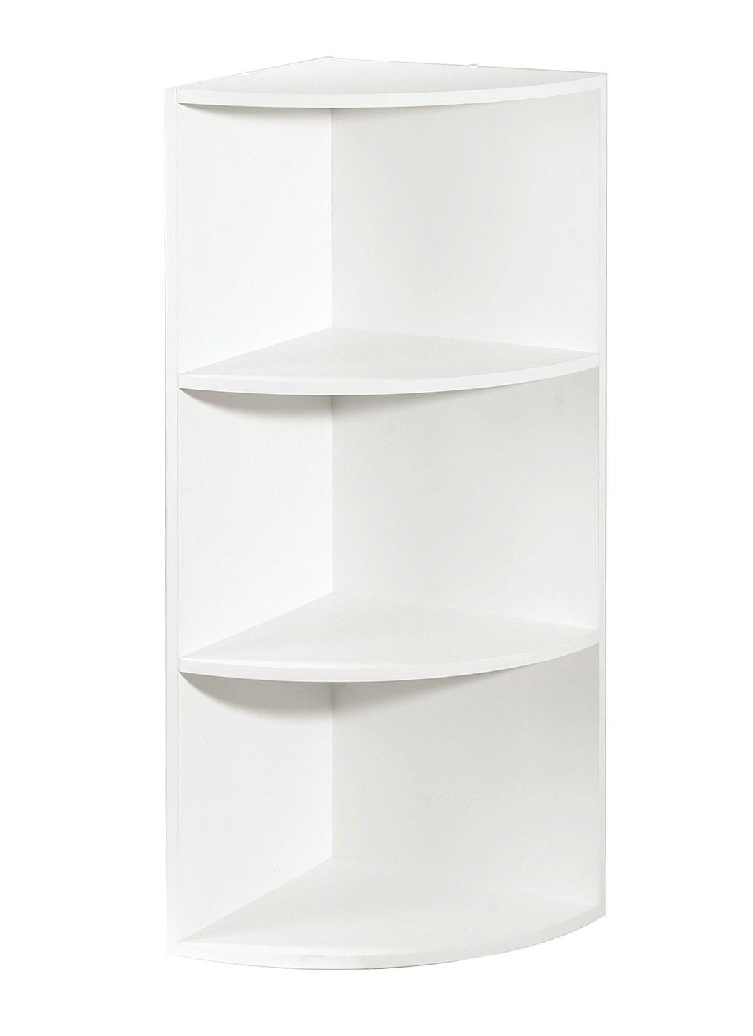 Corner Shelf Organizer, White