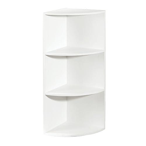Attrayant Corner Shelf Organizer, White