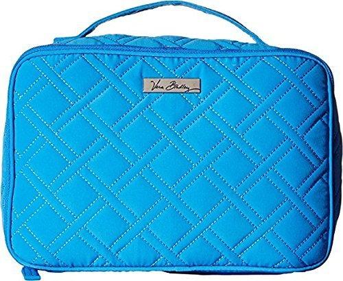 Vera Bradley Large Blush & Brush Makeup Case in Coastal Blue