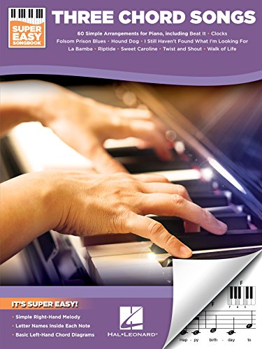 3 Chord Songs - Super Easy Songbook - Kindle edition by Hal Leonard ...