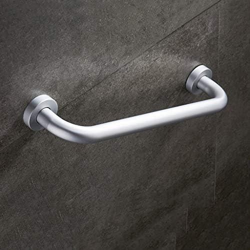 WGWJ Aluminium-Schiebearmlehne, Geländerabstand, Bad-Sicherheitsanhänger, Armlehne mit Badgriff (Größe: 50 cm)