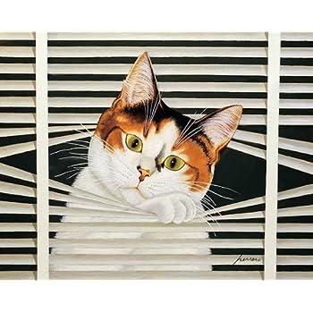 Lowell Herrero Felini Cats Kitty Fat Cat Animal Print Poster 18x24