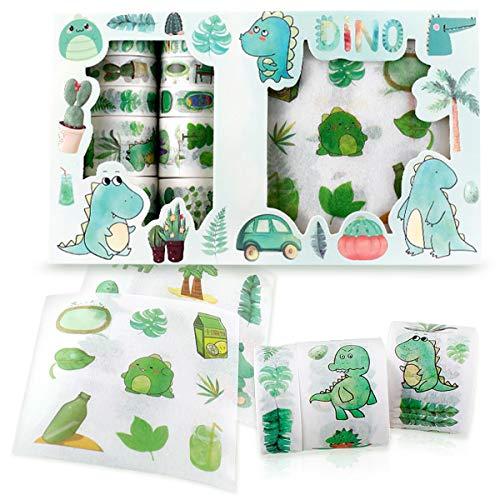 NO Cyjzheu Stickers en Washi Tape Set Multi-Patroon Decoratieve Washi Tape Decoratieve Tape Plakboek Schattig Kat…