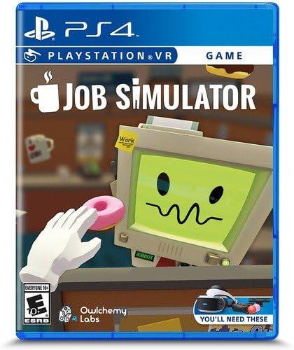 Amazon.com: Job Simulator - PlayStation VR: Video Games
