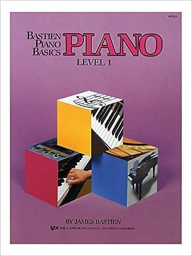 bastien piano basics technic primery lever by james bastien sheet music