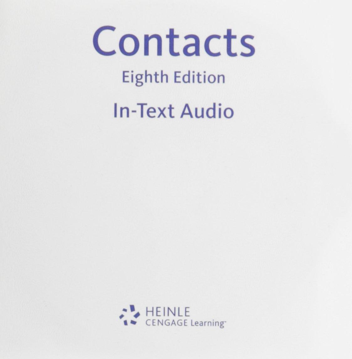 In-text Audio CD-ROM for Valette's Contacts: Langue et culture françaises, 8th