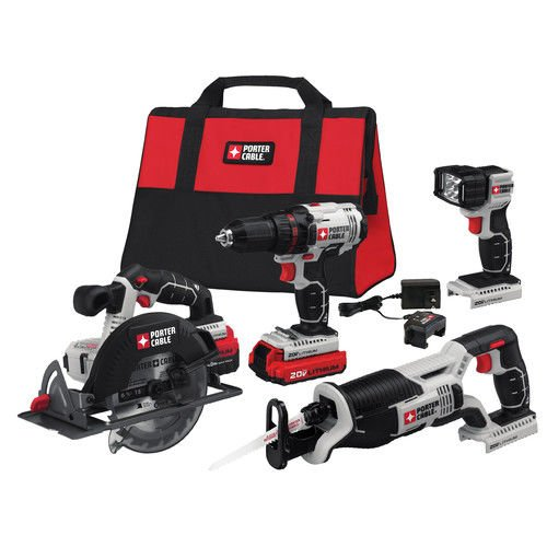 Porter-Cable PCCK614L4 Power Tool Combo Kit