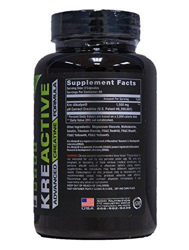 Nvie Nutrition Kreactive 120 Capsules
