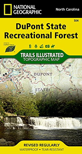 dupont-state-recreational-forest-national-geographic-trails-illustrated-map