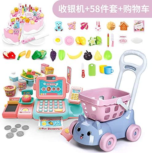 Tremendous Supermarket Cash Register Toy Girl Slivethe Family Girl Birthday Funny Birthday Cards Online Inifodamsfinfo
