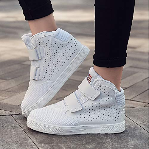 Women's Shoes White Flat Fall Polyurethane ZHZNVX Winter amp; Heel Red PU Comfort White Sneakers 6dwqgf