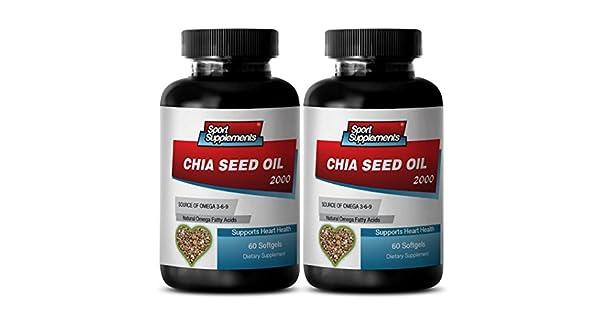 Amazon.com: Ayuda para la pérdida de peso - CHIA Seed Oil ...