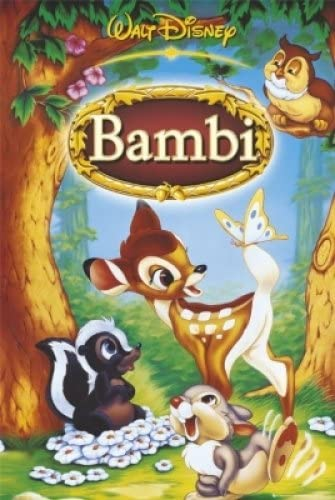 "FRENCH BAMBI SIZE: 27/"" X 39/"" DISNEY MOVIE POSTER // PRINT"