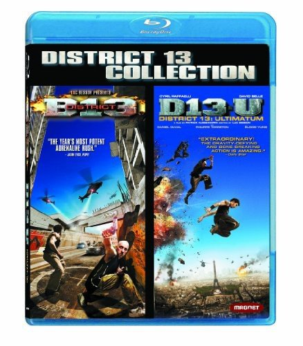 Blu-ray : District B-13/ District 13: Ultimatum (, Dubbed, Widescreen, 2 Disc)