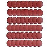 Saiper 48pcs 6 Inch PSA Sanding Discs Pad NO-Hole Self Adhsive Back Aluminum Oxide Sander Disk 80/100/120/180/240/400 Grit Sandpapers