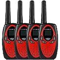 4-Pack Floureon WT-0882 2-Way Radios Walkie Talkies